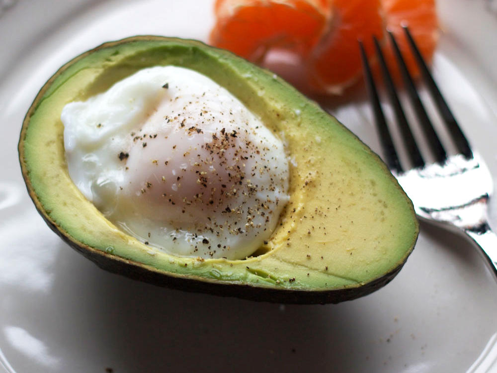 Poached Egg in an Avocado
