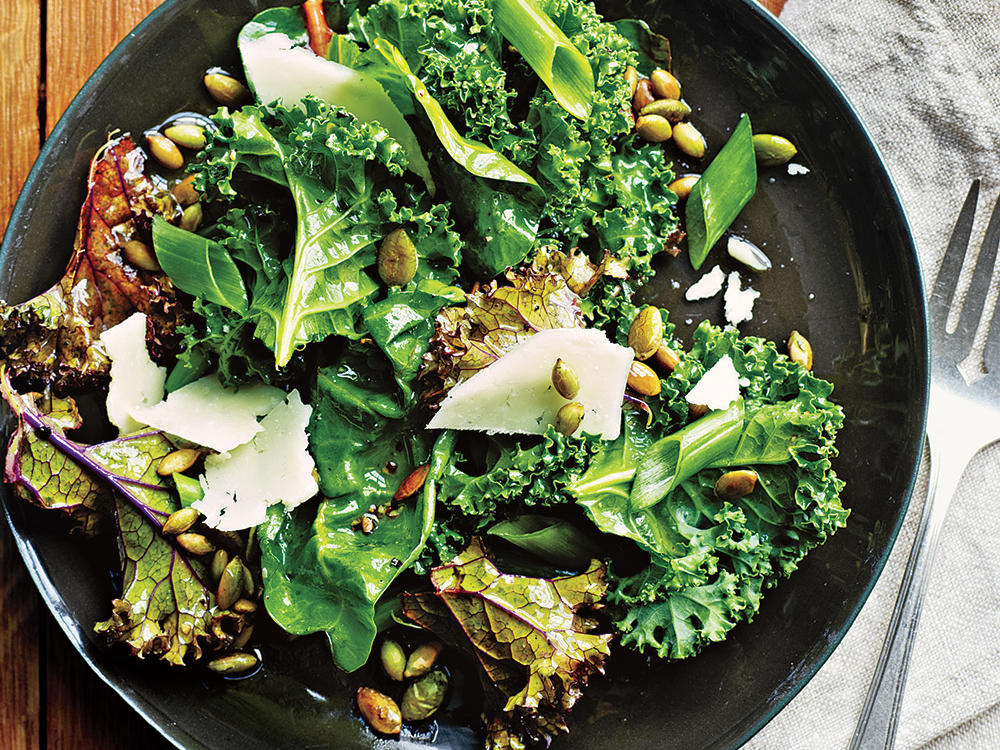 How to Make a Kale Salad