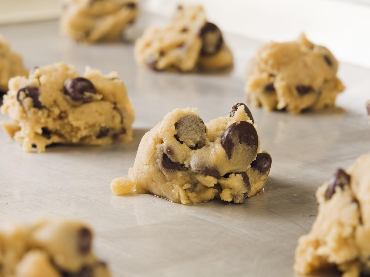 raw cookie dough