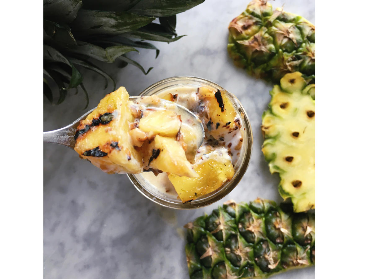 Pineapple-Coconut Dessert Cup