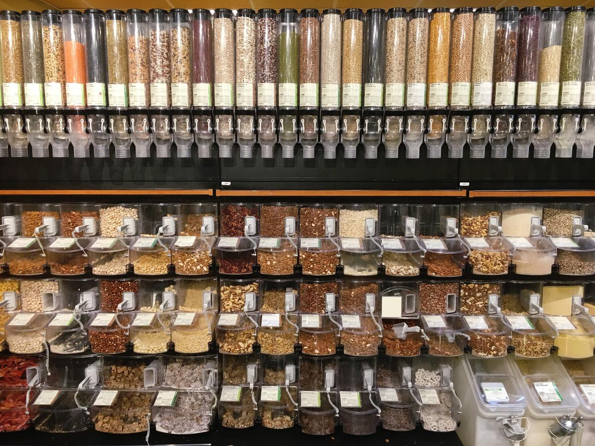 bulk aisle whole foods