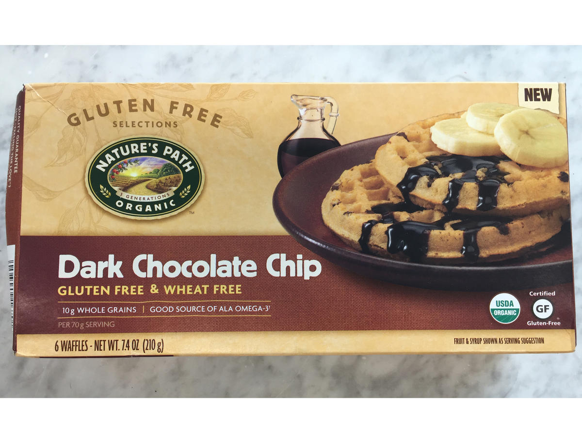 Frozen Food Nature's Path Dark Chocolate Chip Waffles