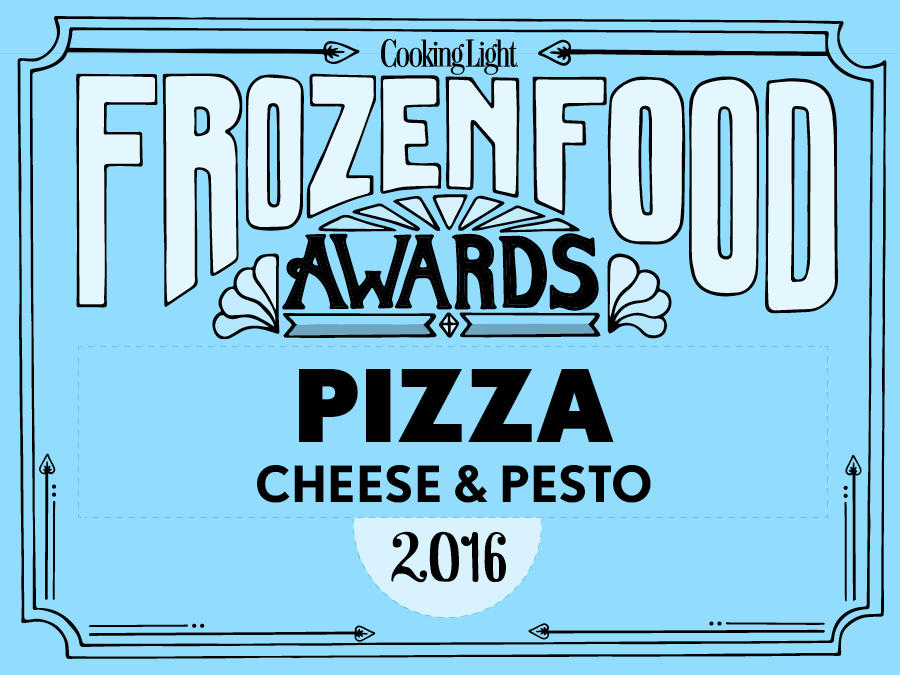 Frozen Food Cheese Pesto Pizza Header