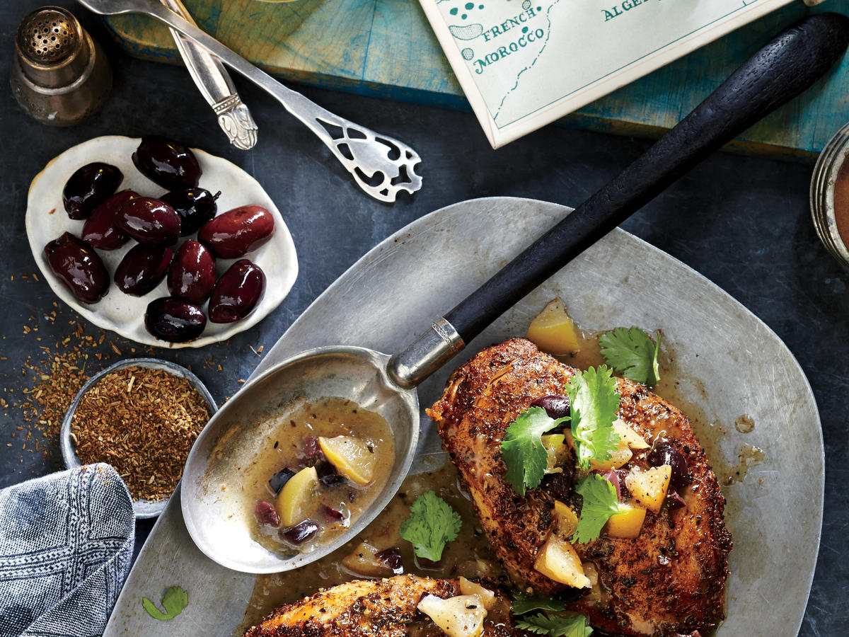 chicken with preserved lemon recipe