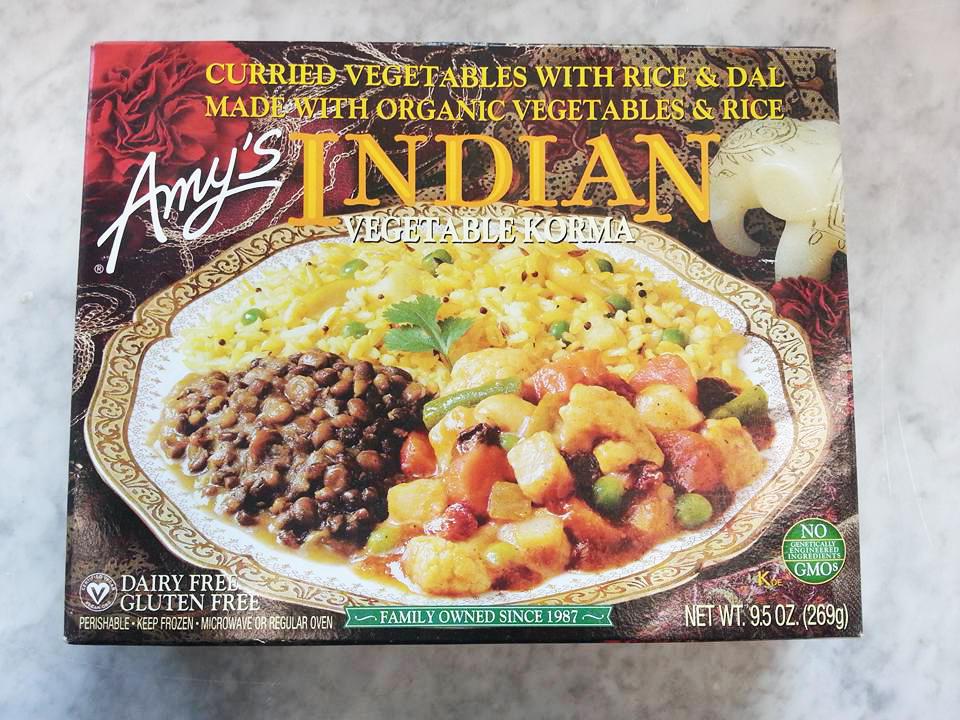 Frozen Food Amy's Indian Vegetable Korma