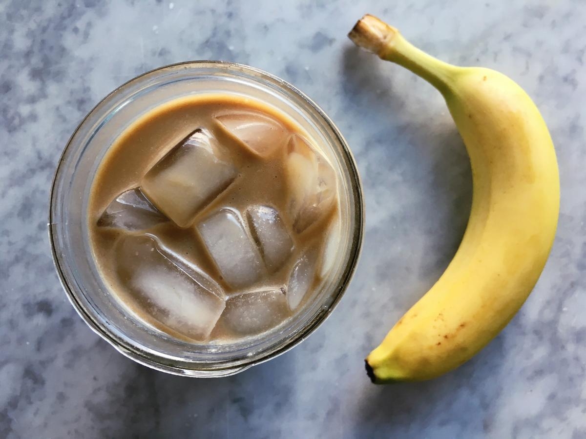 We Tried Banana Milk Coffee—and Added a Surprise Ingredient That You Need to Try