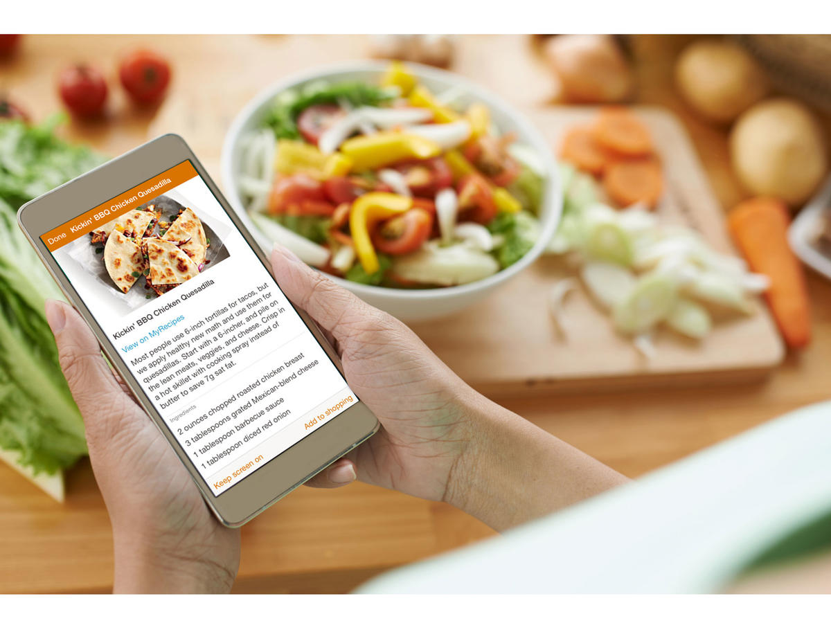 This app makes family meal planning easy cooking light forumfinder Image collections