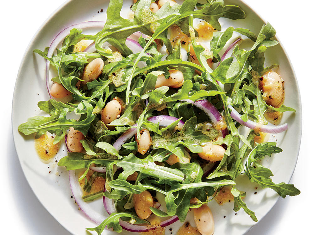 Side: Lemony White Bean-and-Arugula Salad