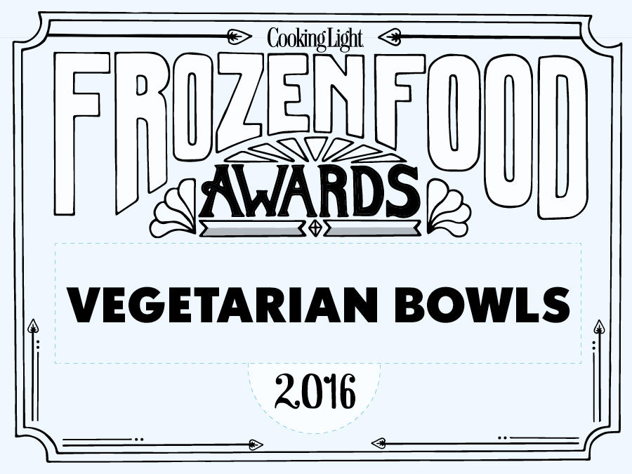 Frozen Food Awards Vegetarian Bowls