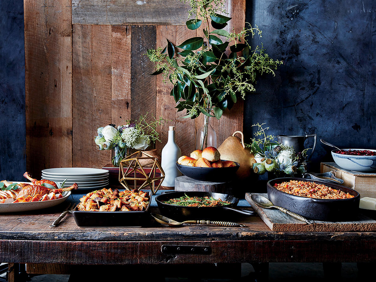 Tips and Tricks for Setting Up the Thanksgiving Buffet - Cooking Light