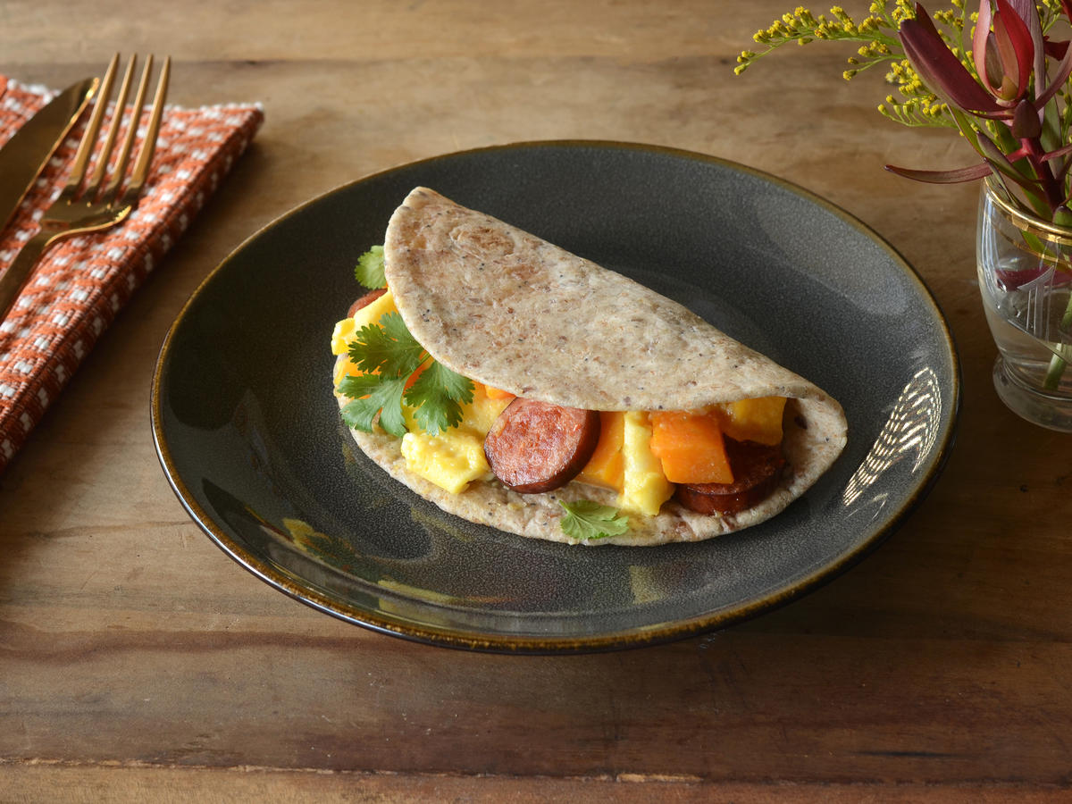 Butternut Breakfast Tacos