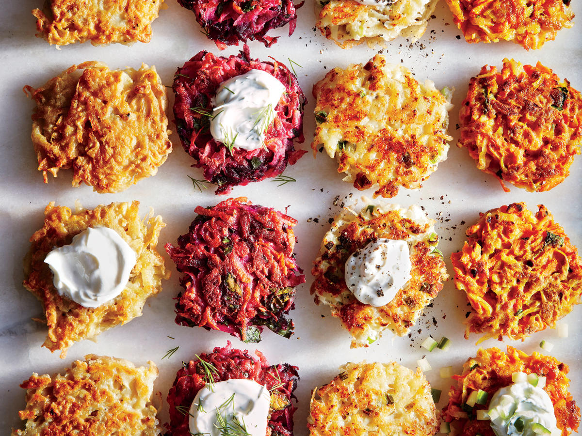 Curried Carrot Latkes