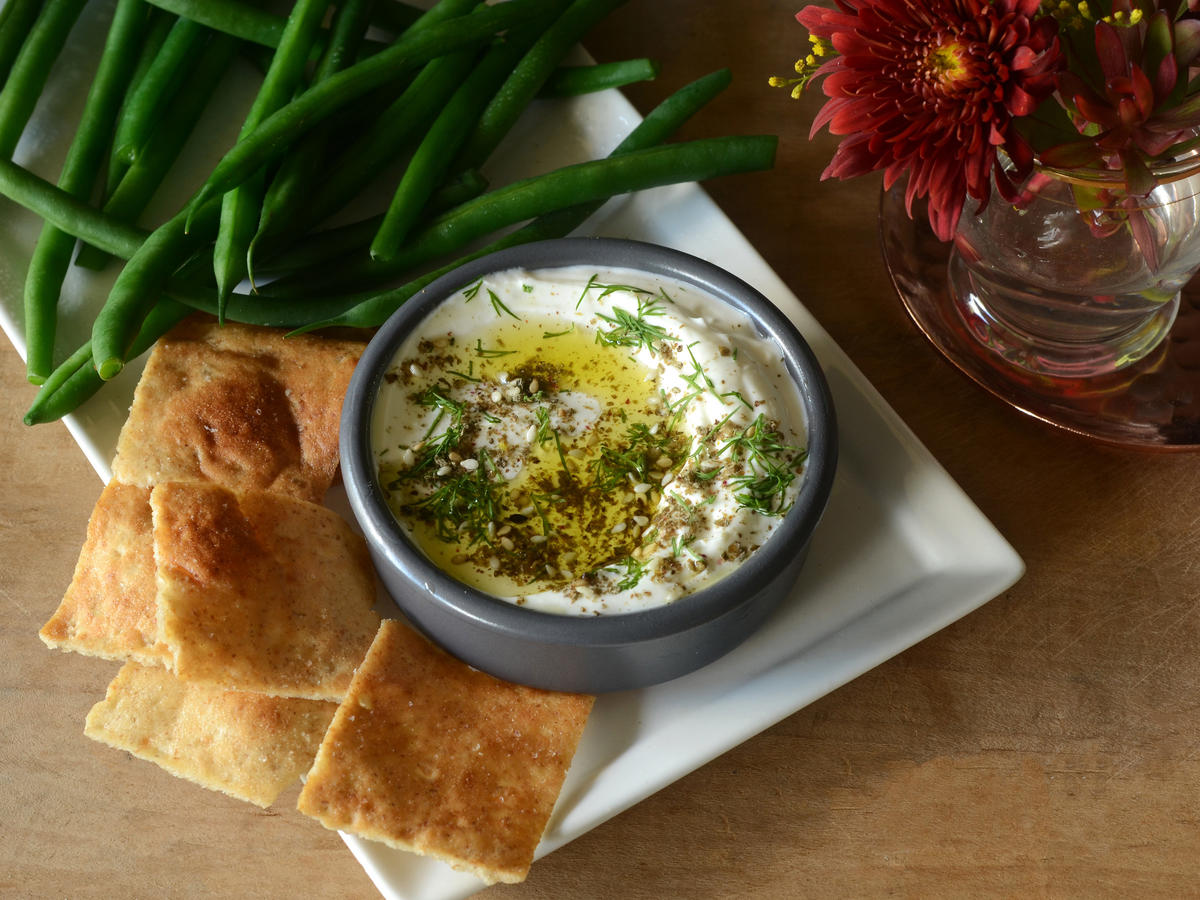 Dilly Labneh Dip