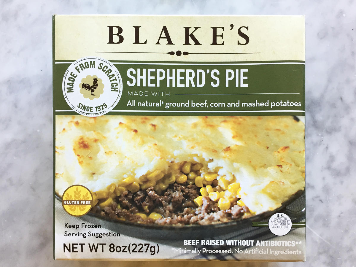Blakes Shepherds Pie Frozen Food