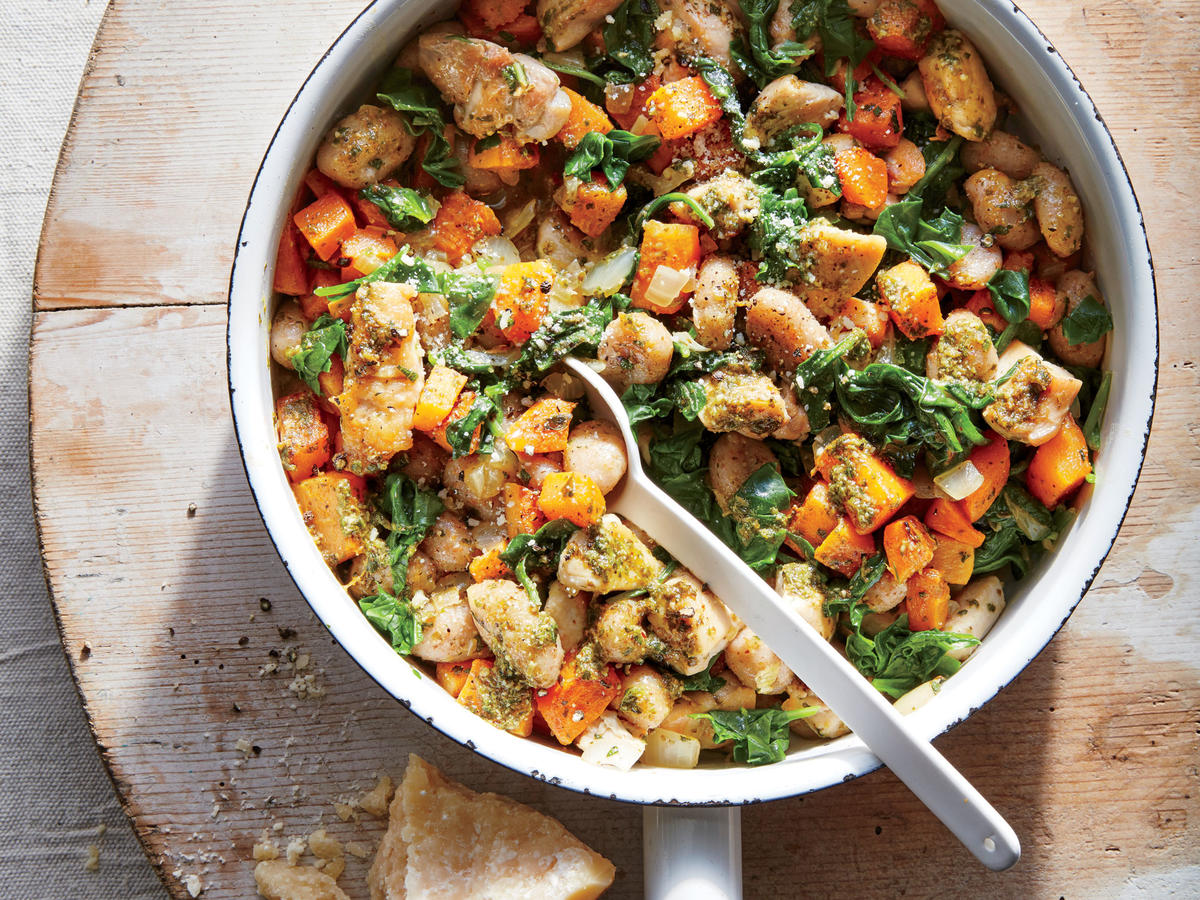 Chicken and Butternut Gnocchi