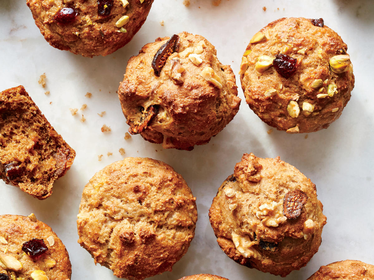Browned Butter Whole-Wheat Muffins
