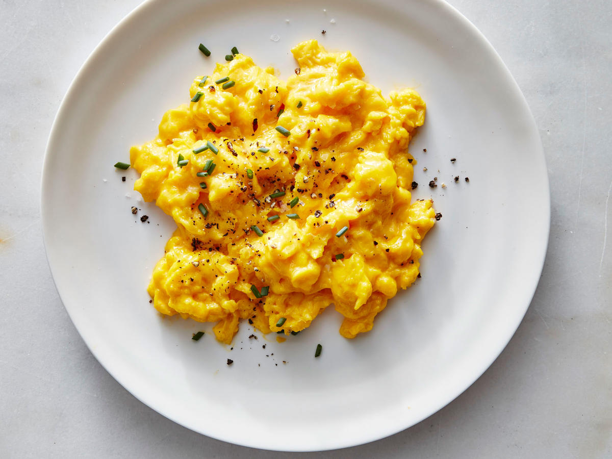 Creamy Soft-Scrambled Eggs