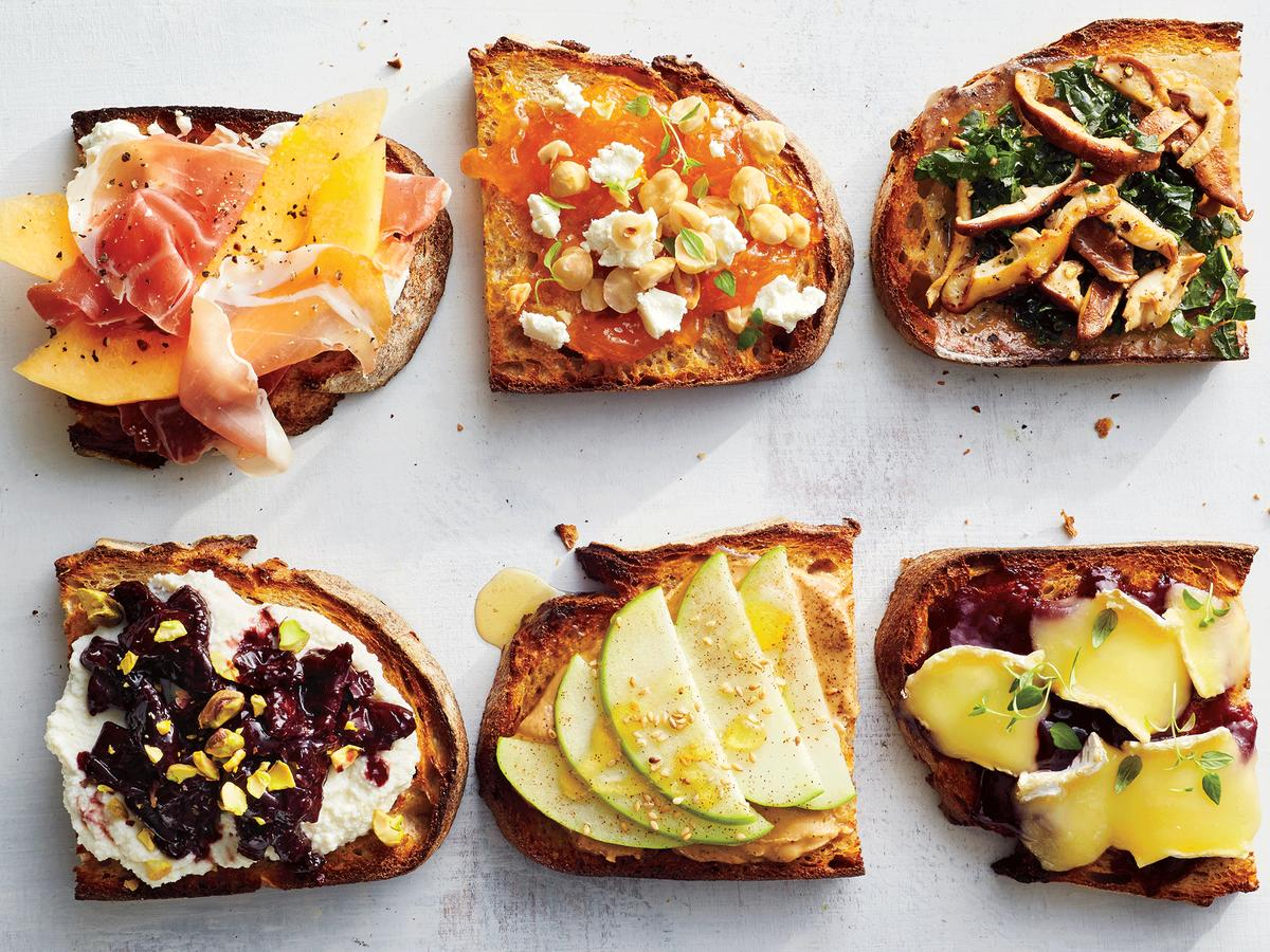 200 calorie toast recipes