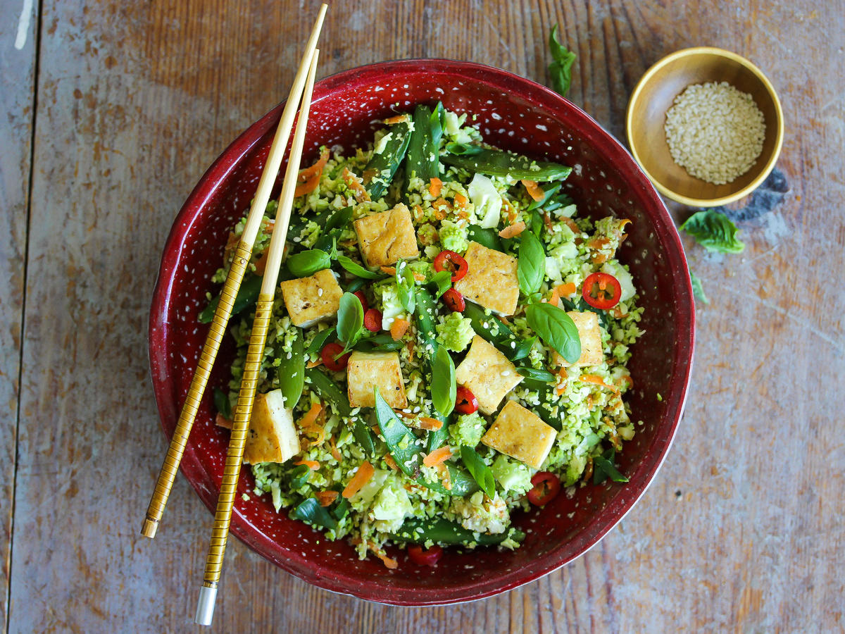 Romanesco Fried Rice