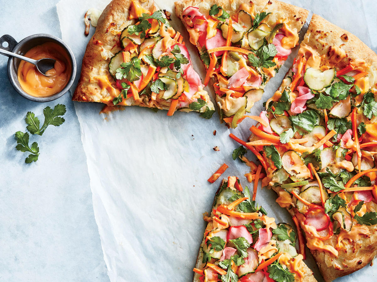 Banh Mi Pizza