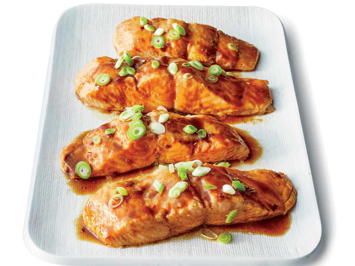 Easy Sesame-Hoisin Salmon