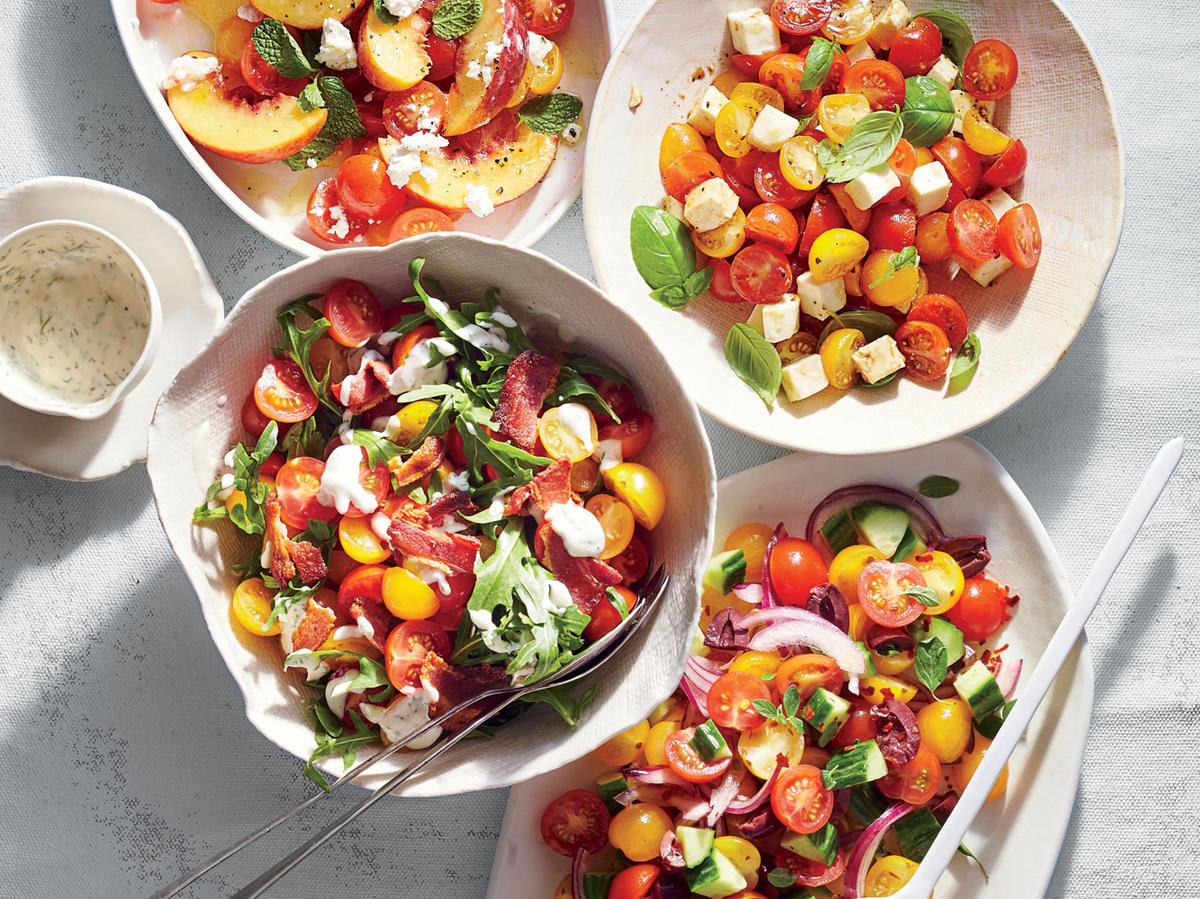 Caprese Tomato Salad - Cooking Light