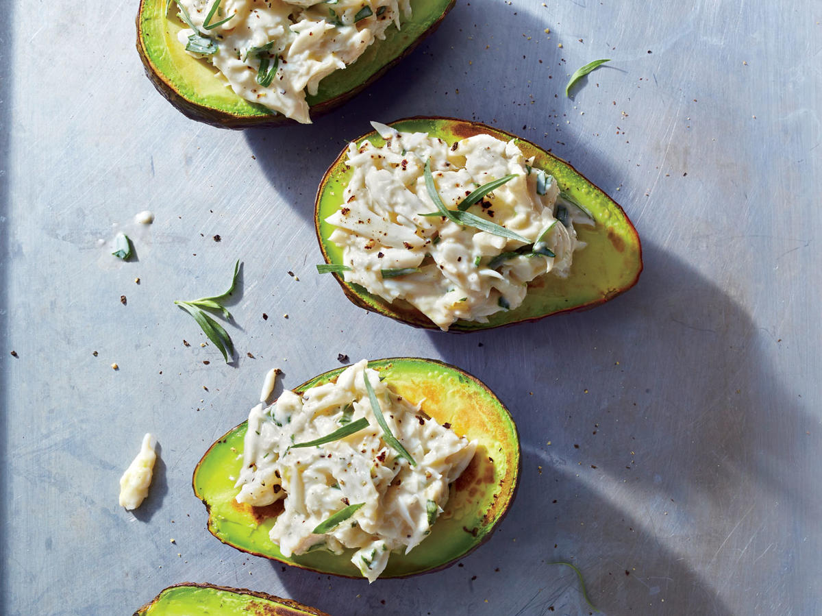 Crab-Stuffed Avocados