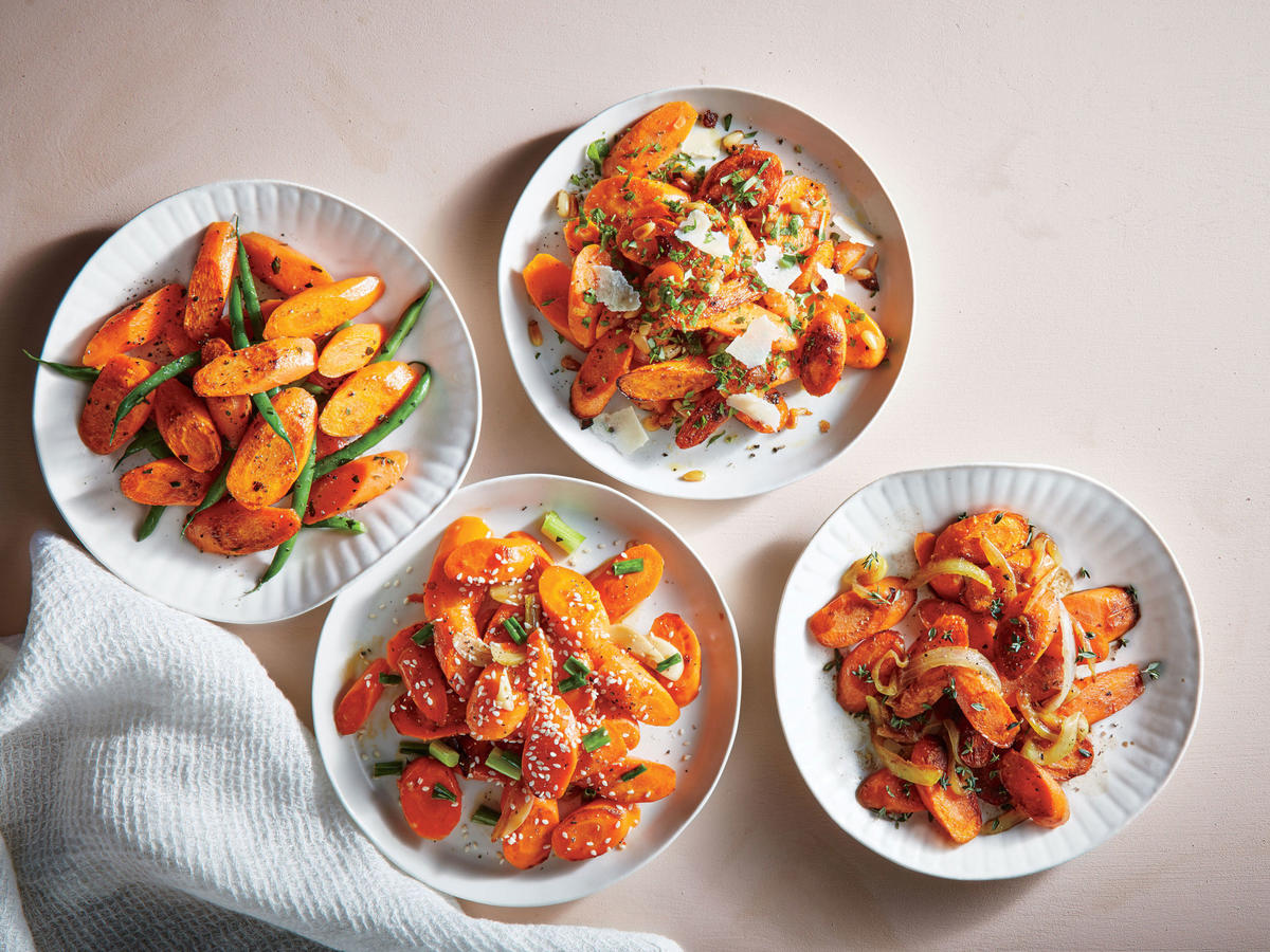 Four Ways with Carrots