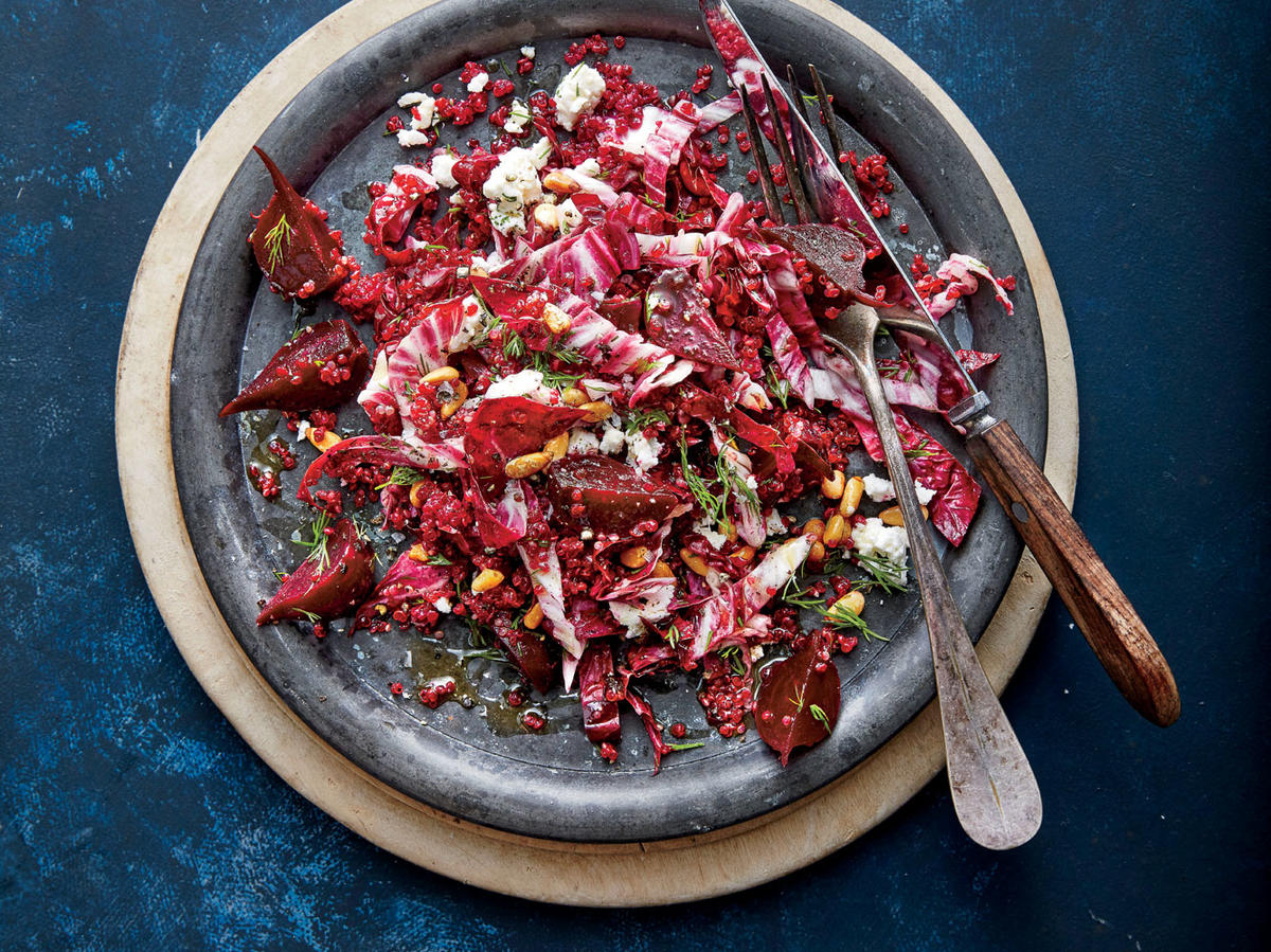 Rosy Beet-and-Quinoa Salad