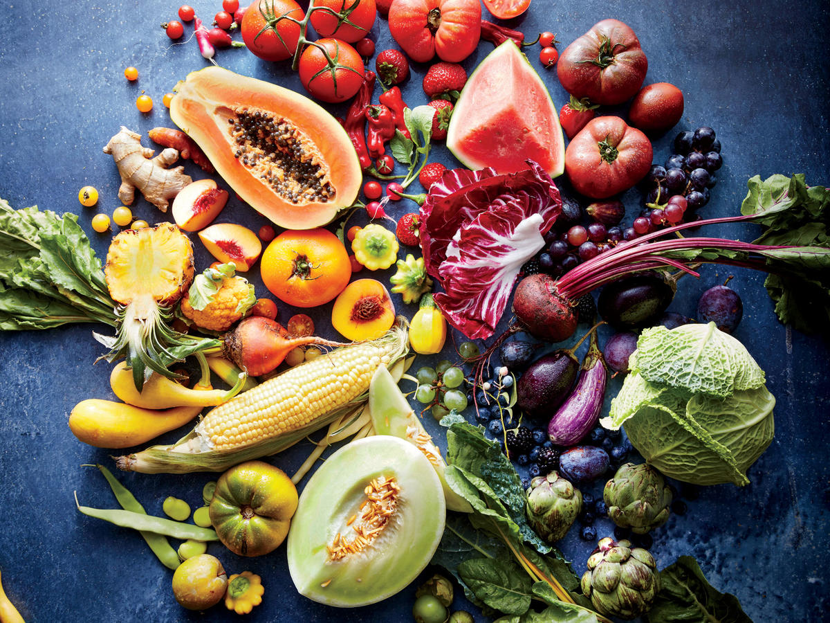 Summer Fruits and Vegetables