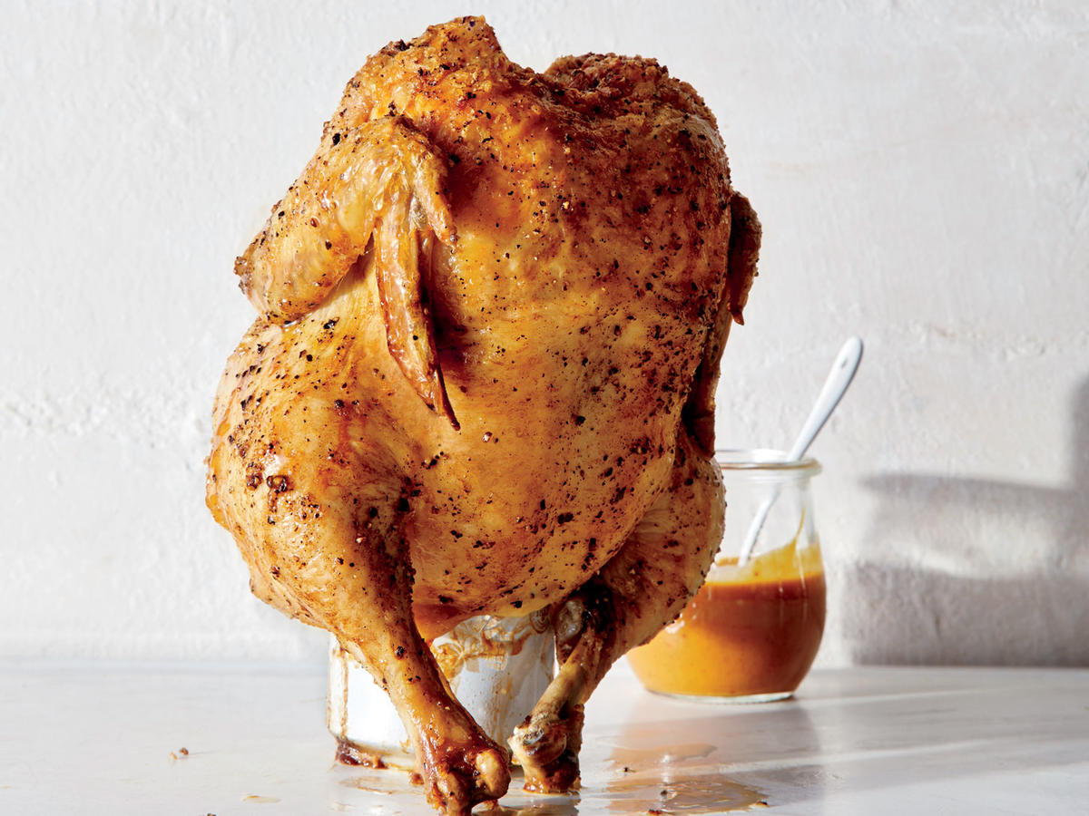 Tangy Beer-Can Chicken