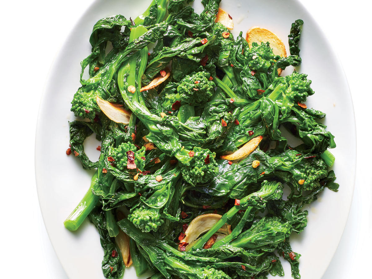 Broccoli Rabe with Anchovy Butter