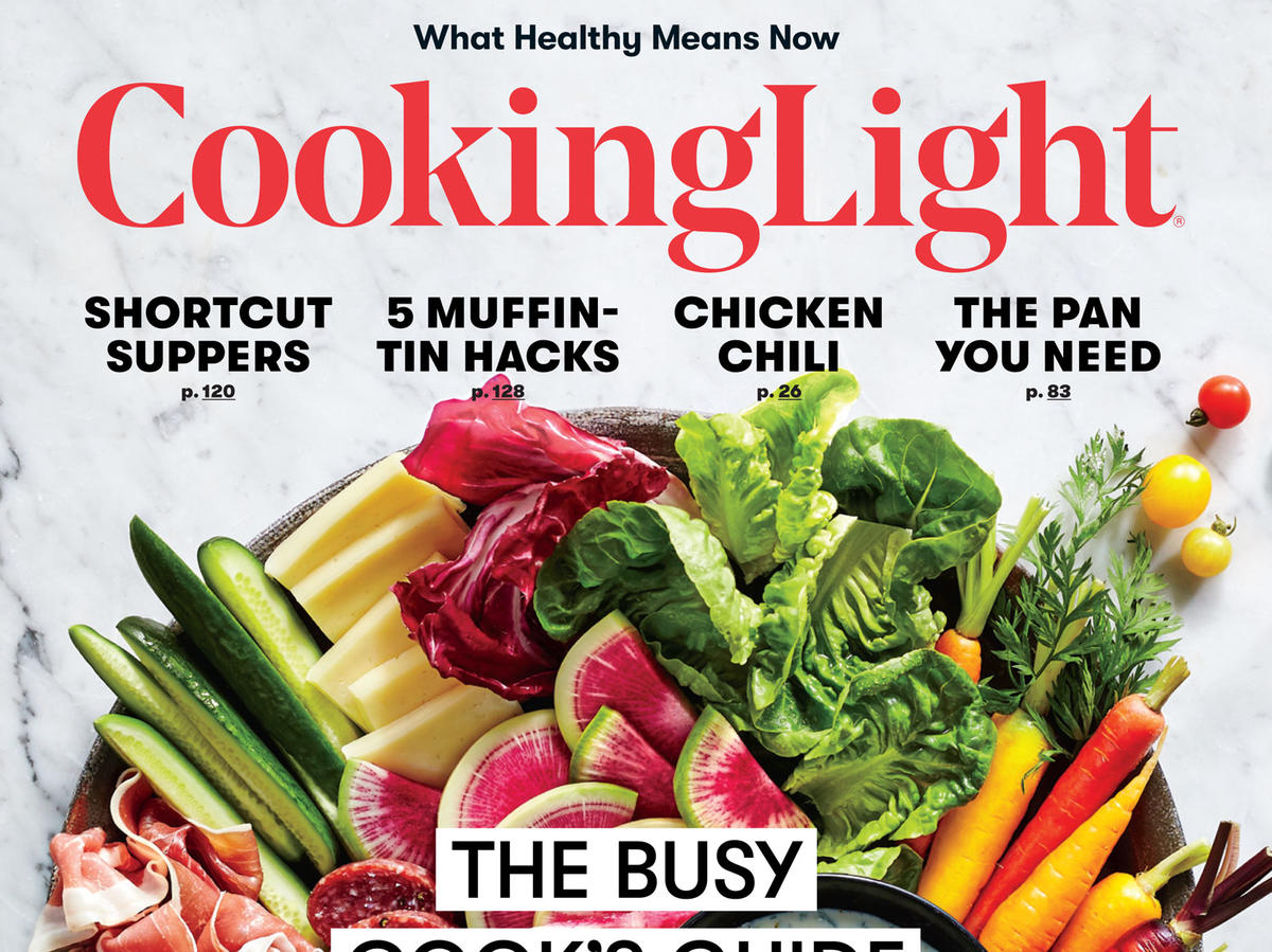 Cooking Light September 2017 Cover