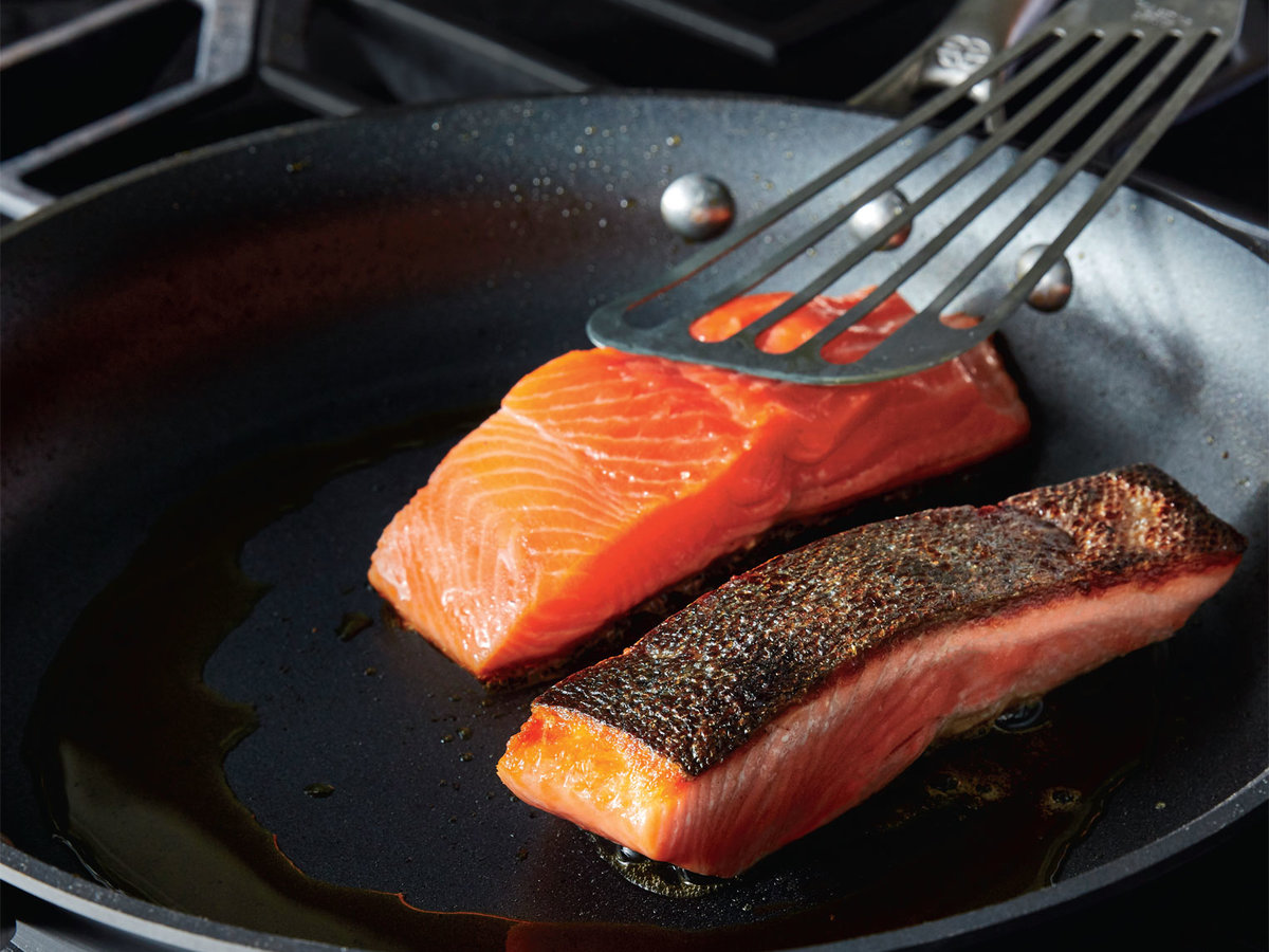 Pan-Seared Salmon