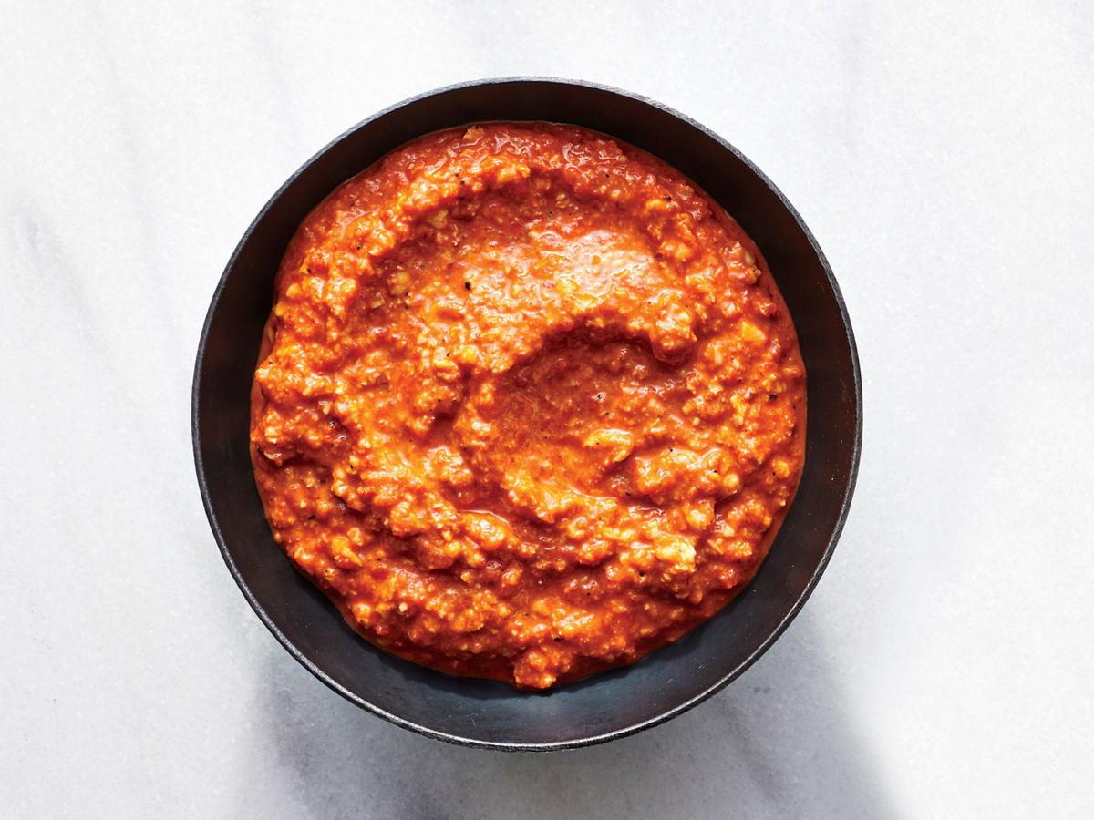 Quick Roasted Red Pepper Sauce