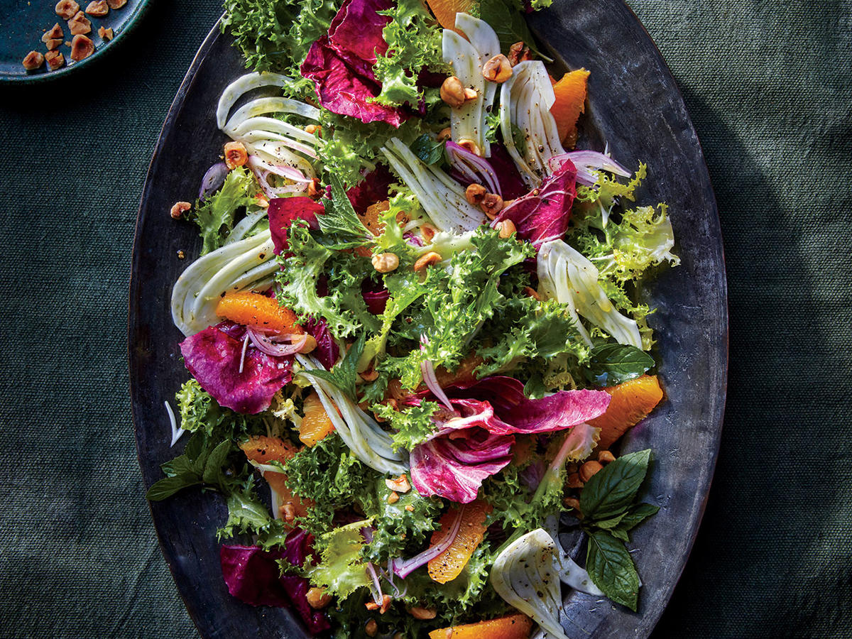 Fennel and Blood Orange Salad