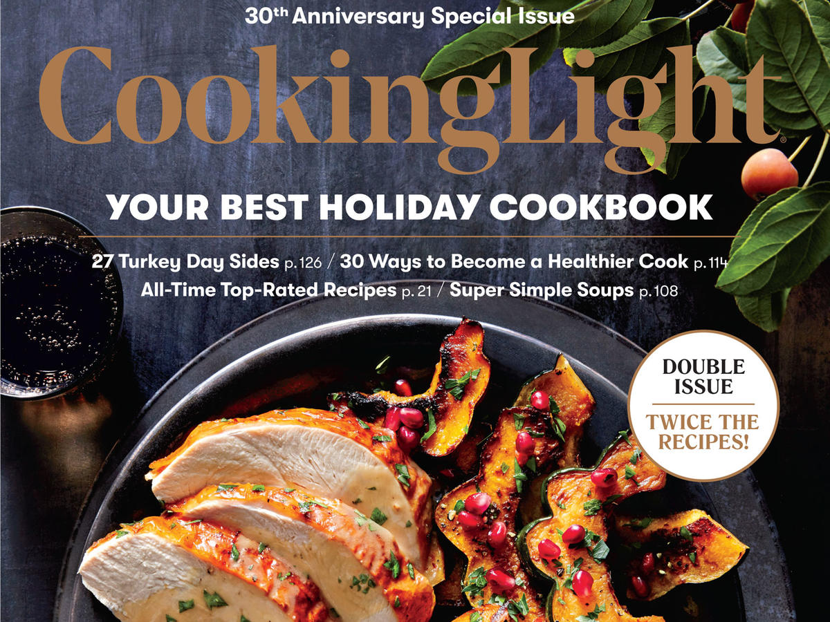 Cooking Light November 2017 Cover