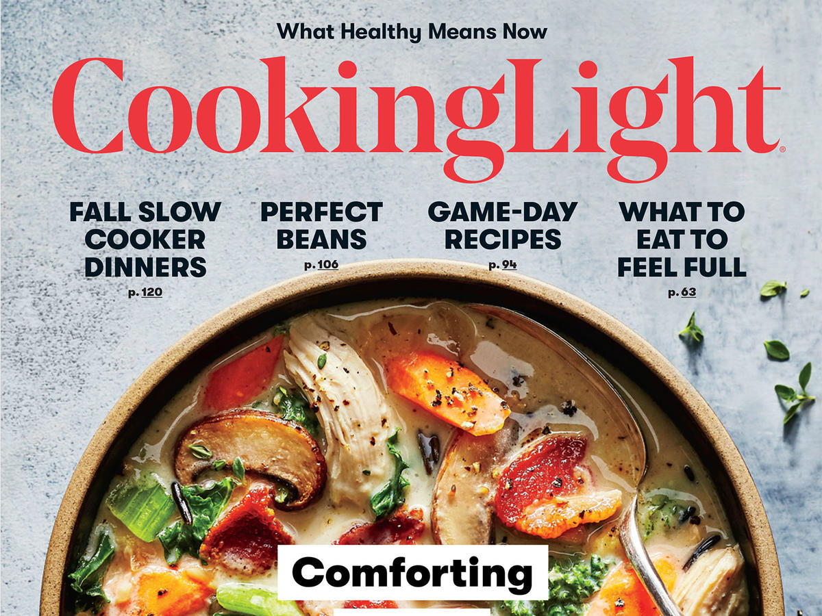 Cooking Light October 2017 Cover
