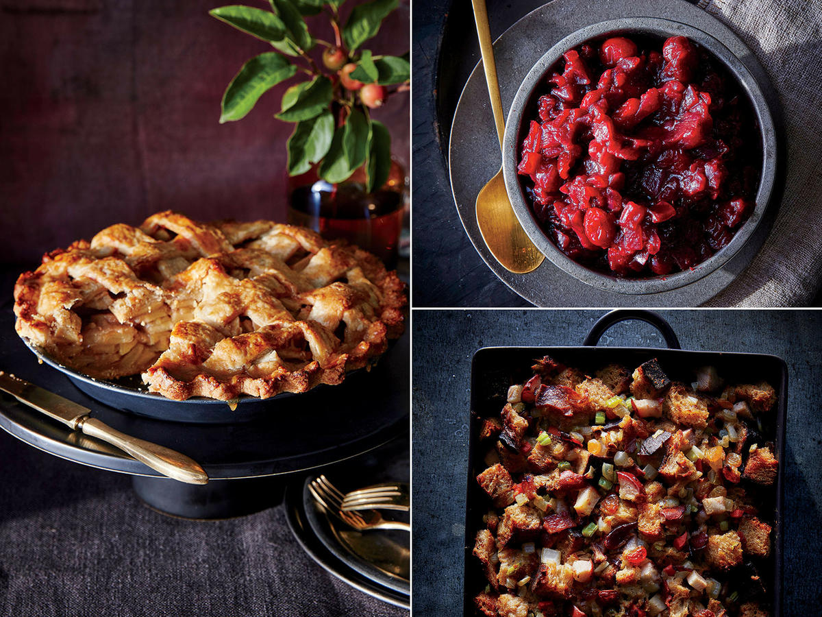 Pear, Apple, Cranberry Thanksgiving Recipes