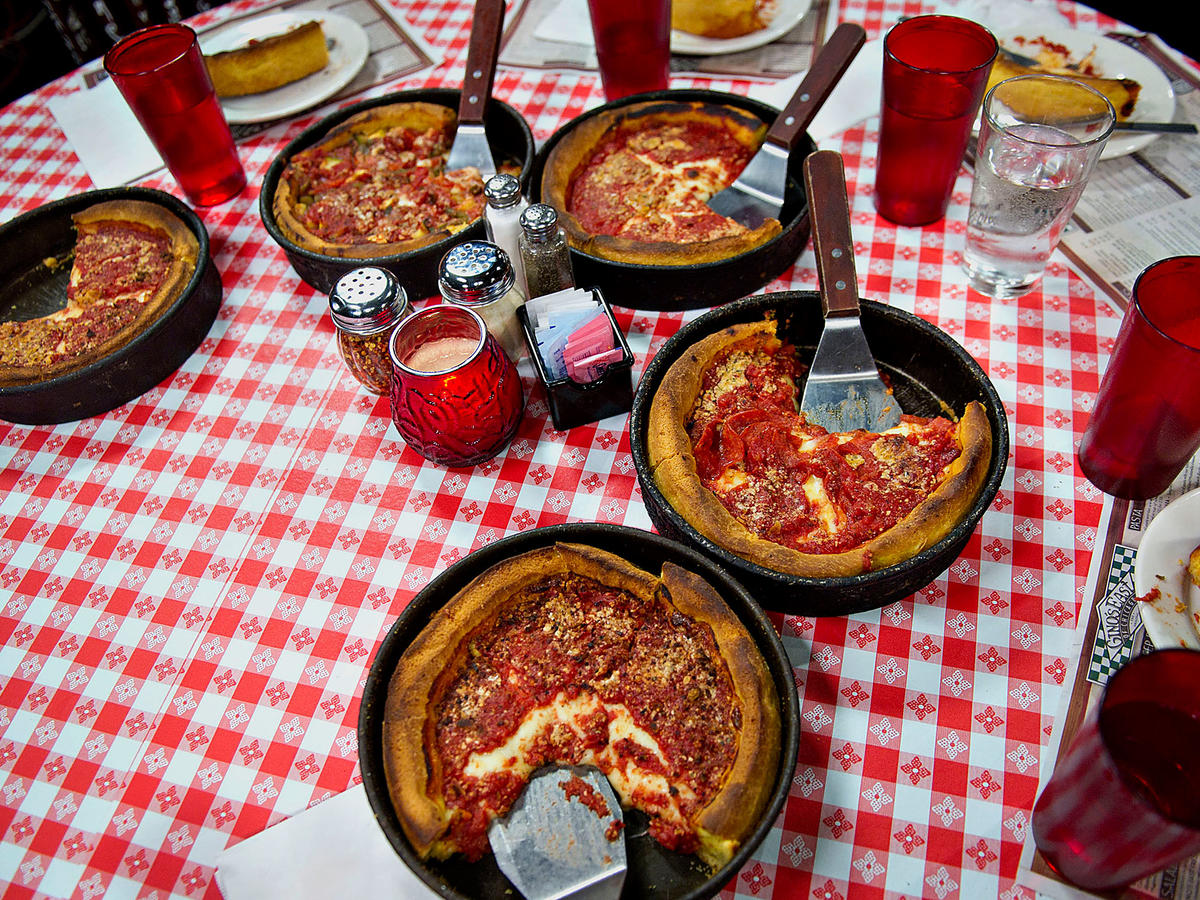 Gino's East Deep Dish Pizza