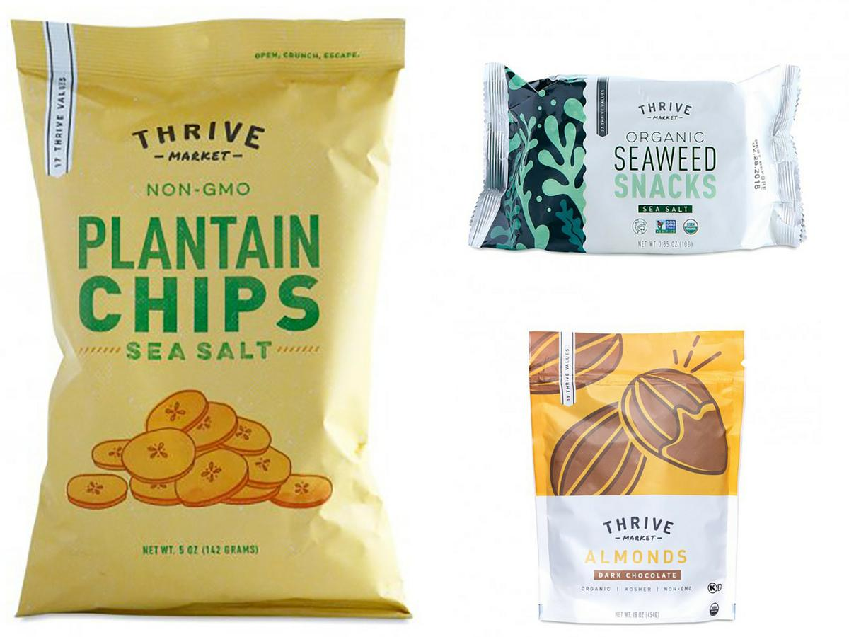 Thrive Market Holiday Snacks