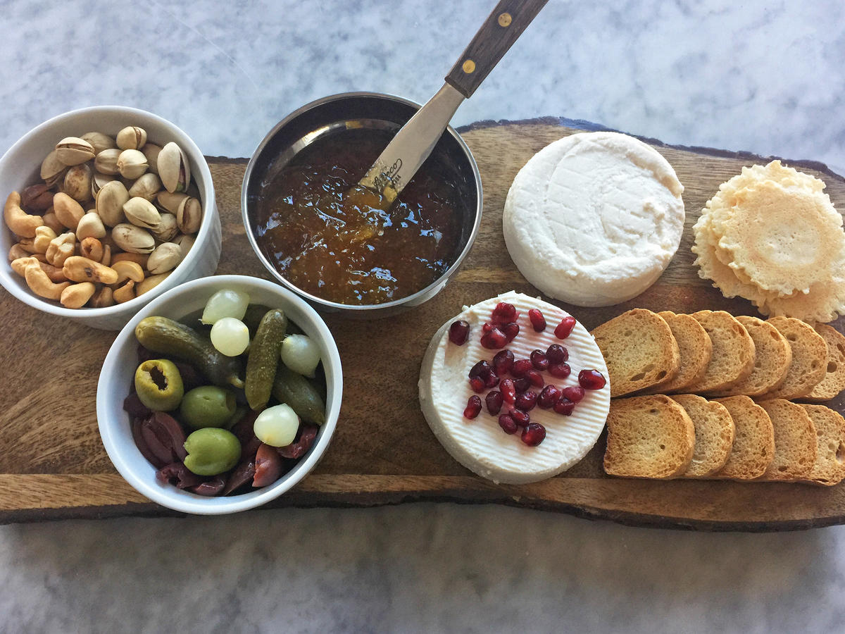 Vegan Cheese Board