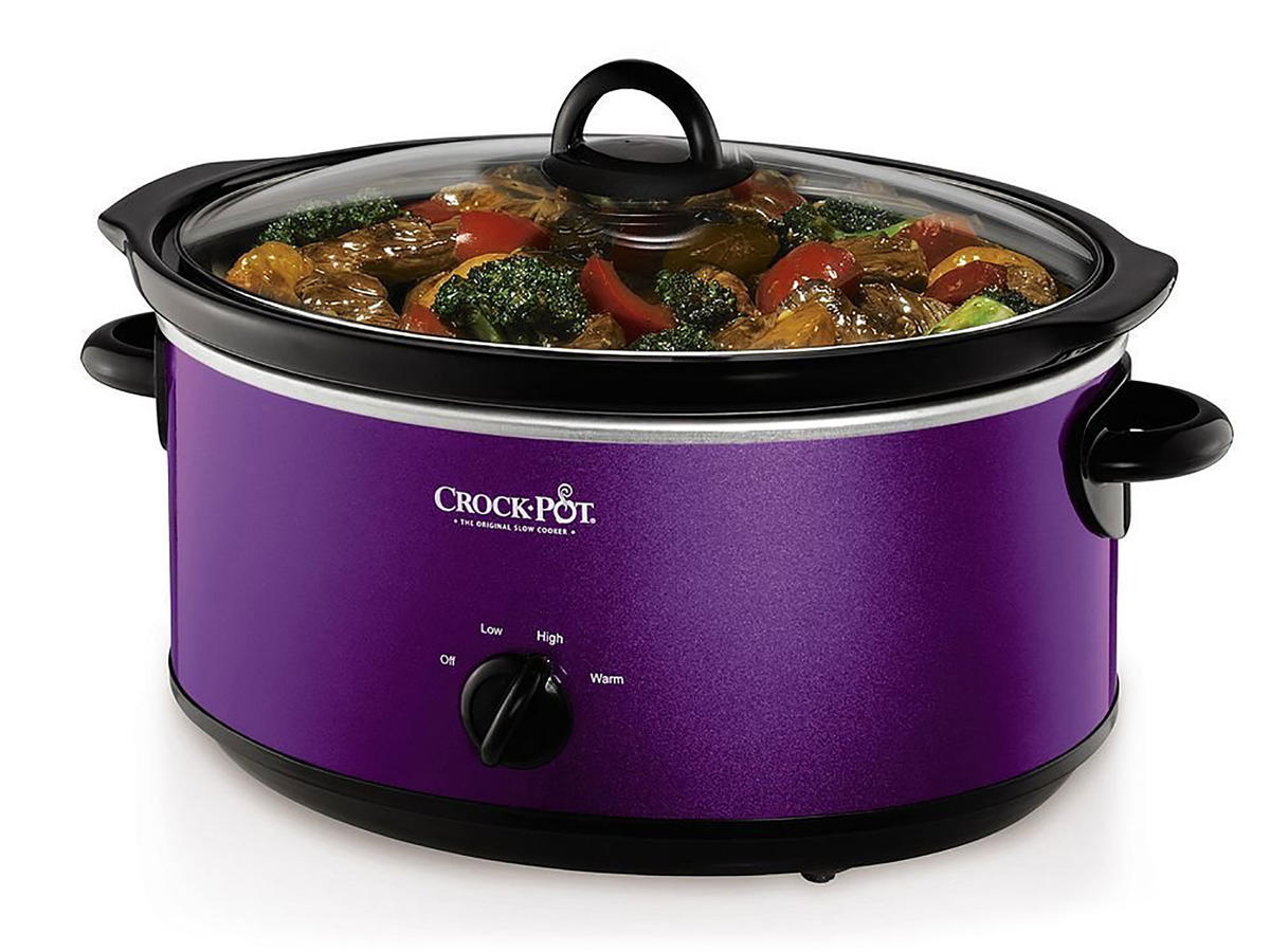 Ultra Violet Crock Pot