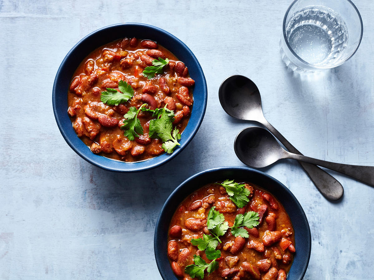 Colombian-Style Red Beans