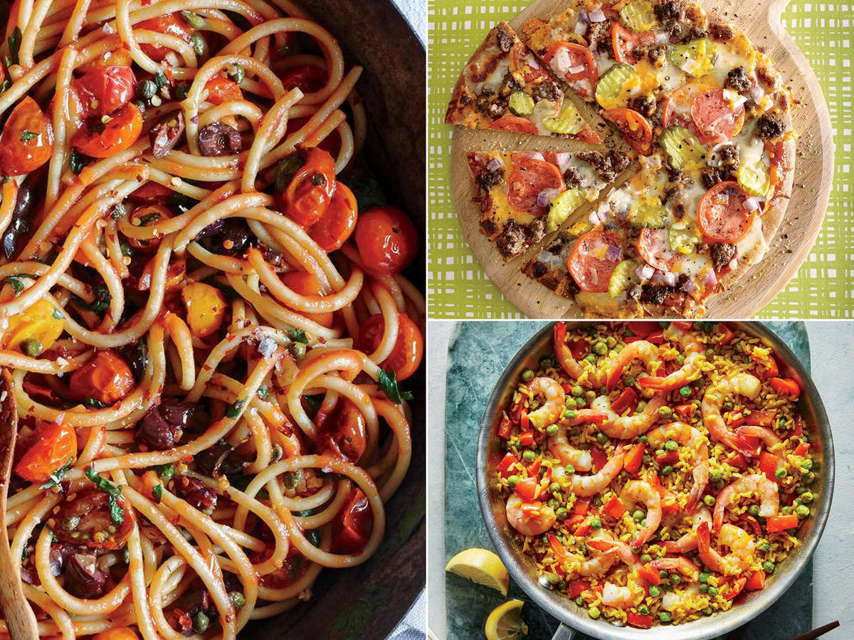 Cooking Light Diet Weeknight Dinners