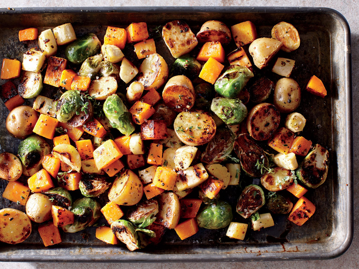 Sheet Pan Roasted Vegetables