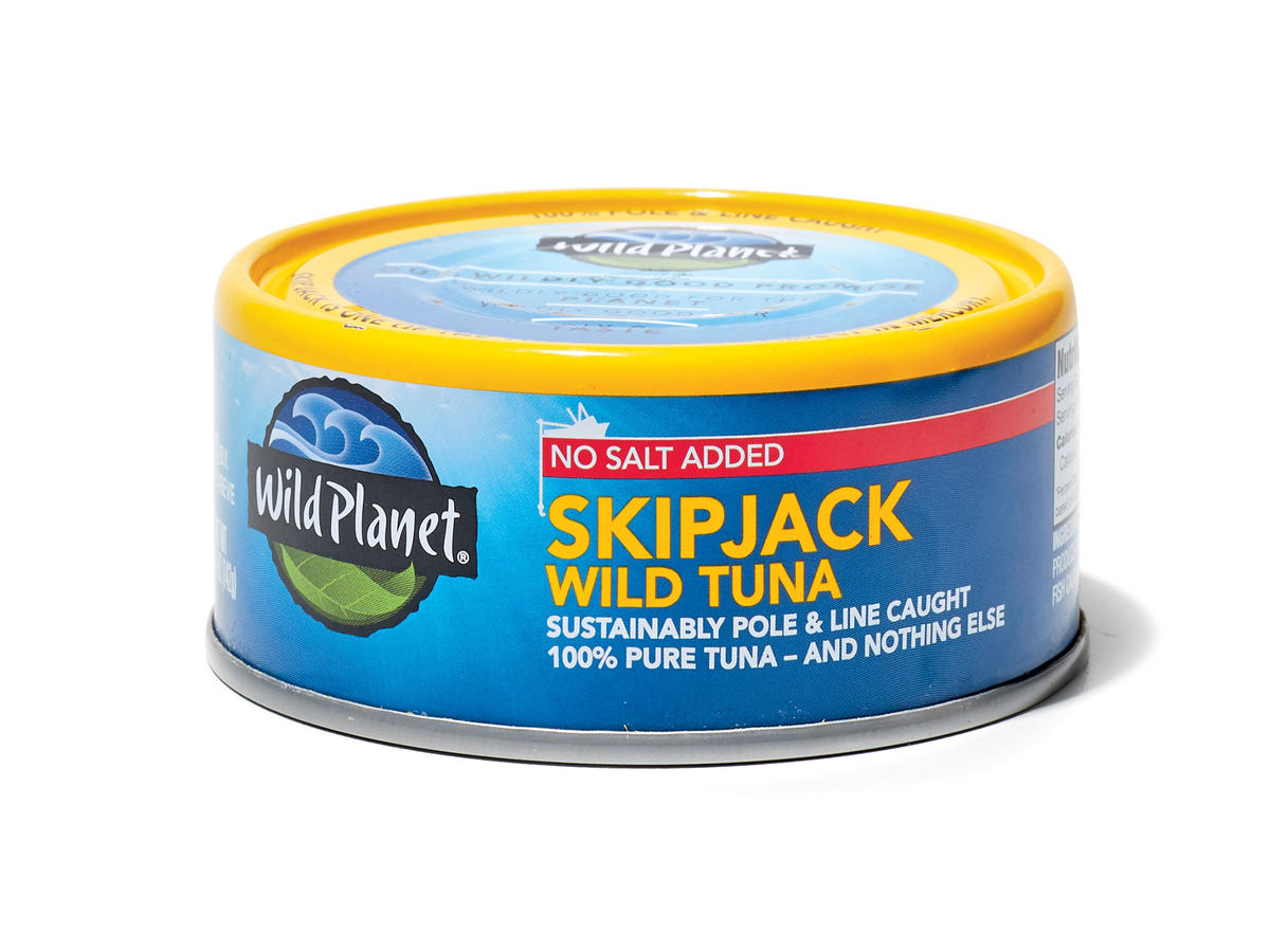 Wild Planet No Salt Added Skipjack Wild Tuna