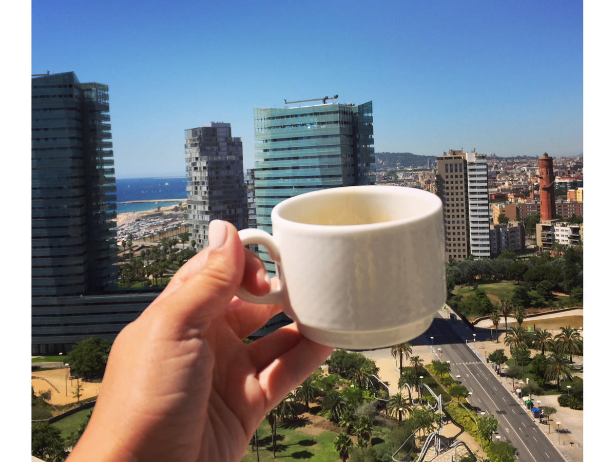 coffee in Barcelona