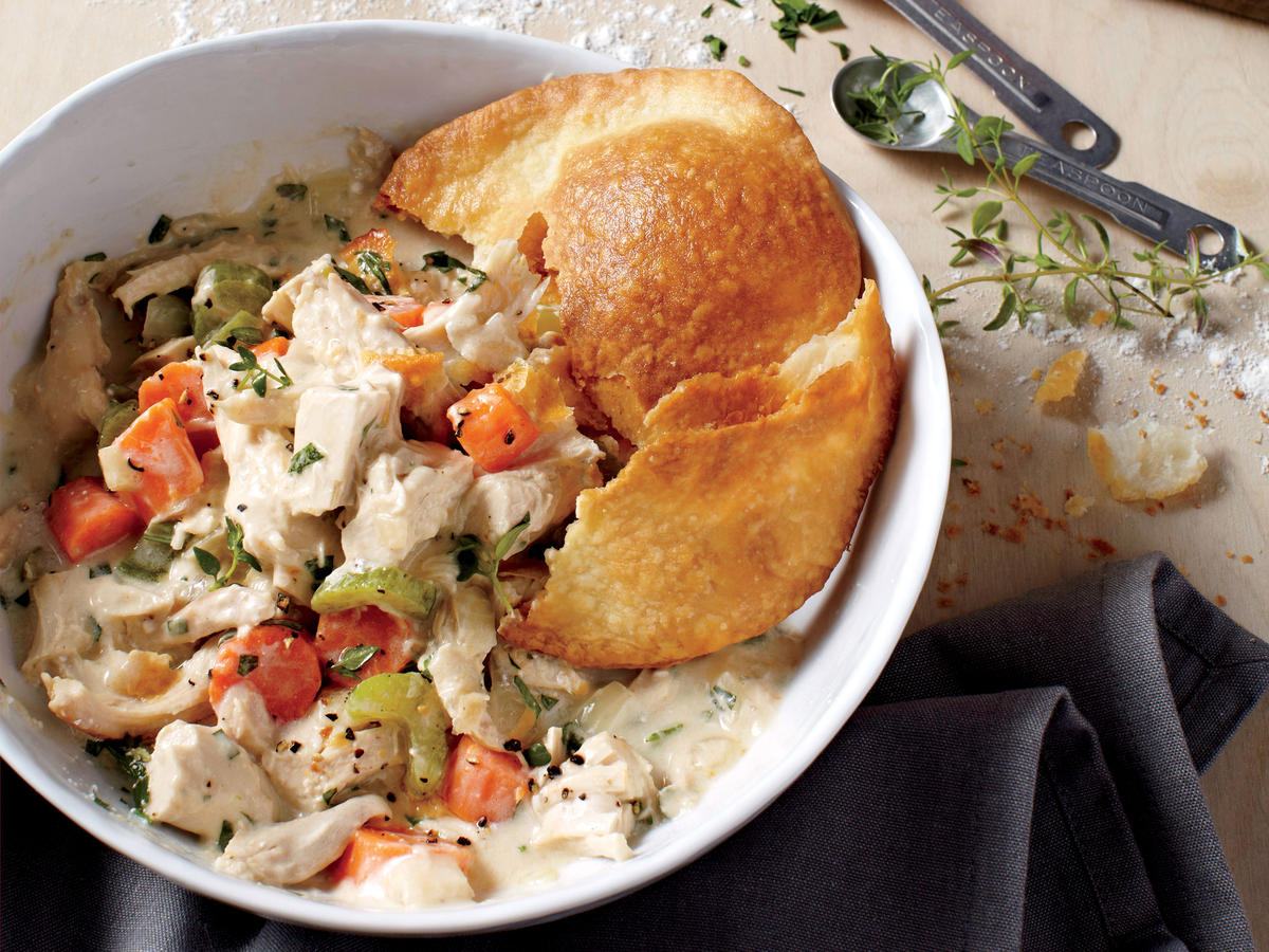 Crisp-Crust Chicken Potpie