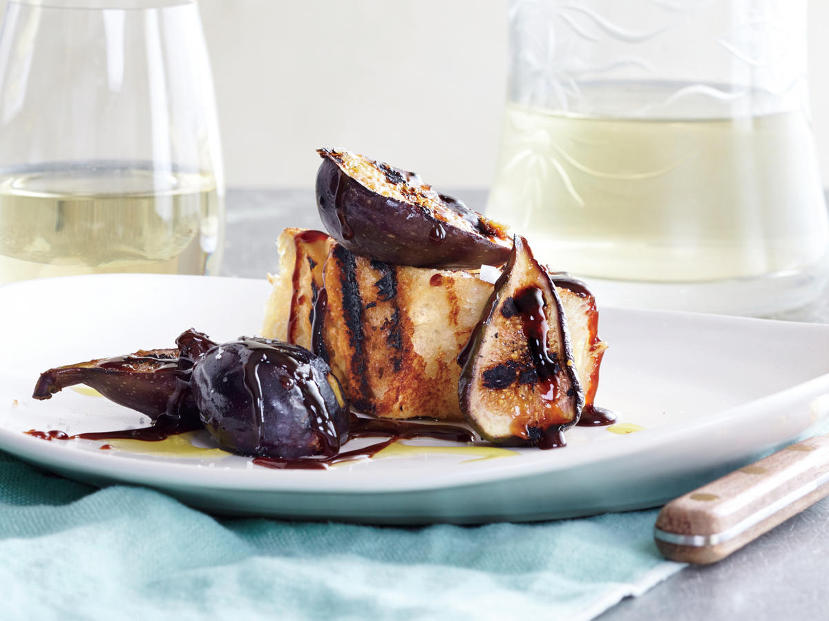 Grilled Fig Toast